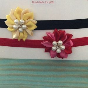 Other - Pretty Nylon headbands set for babies 👶 NWT